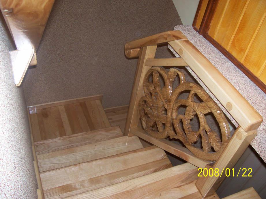 schody drewniane balustrada 6