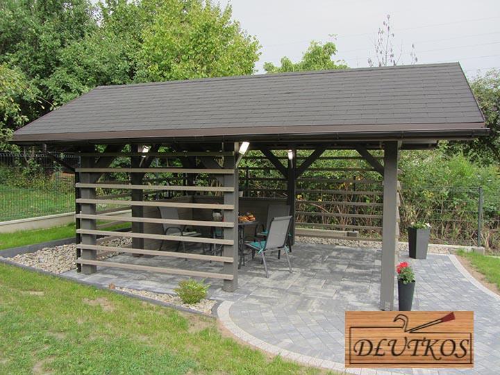Gotowe projekty drewnianych domków ogrodowych